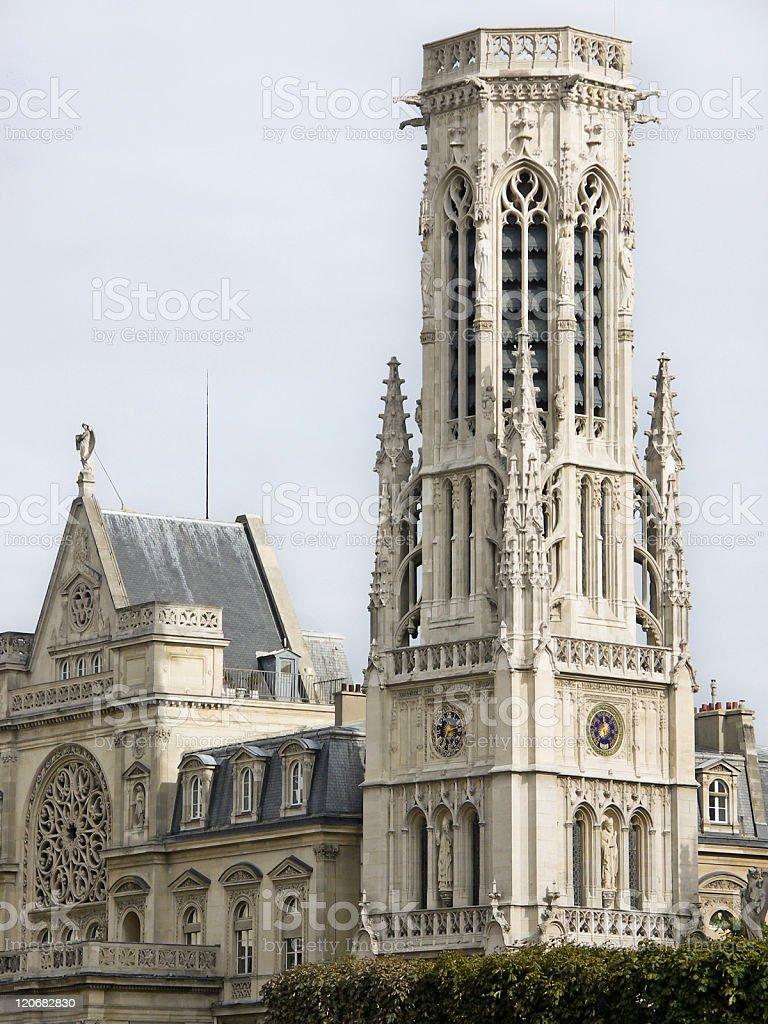 Clock Tower in Paris royalty-free stock photo