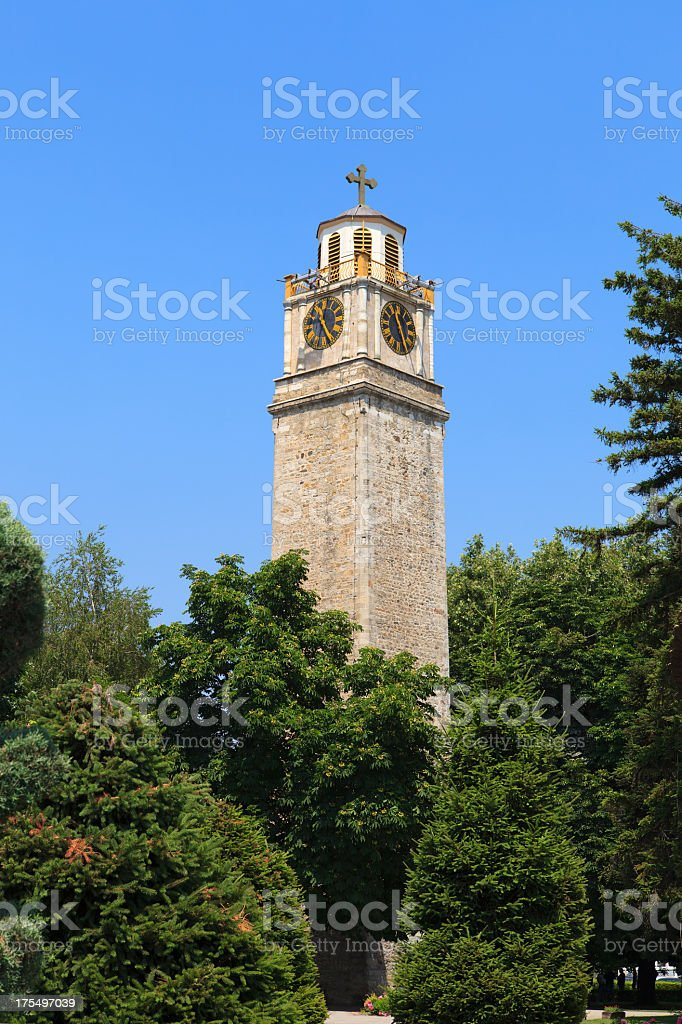 Clock tower of Bitola royalty-free stock photo