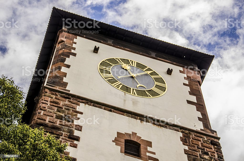 Clock tower. stock photo