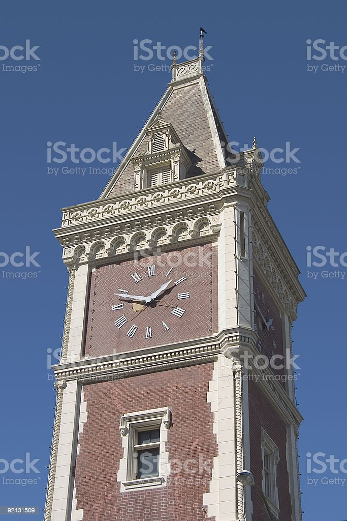 Clock Tower #3 royalty-free stock photo