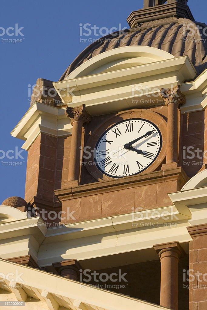 Clock Tower Vt royalty-free stock photo