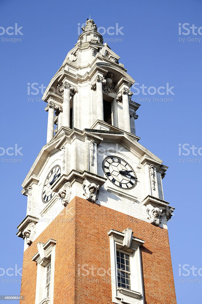 Clock Tower, Woolwich, UK stock photo