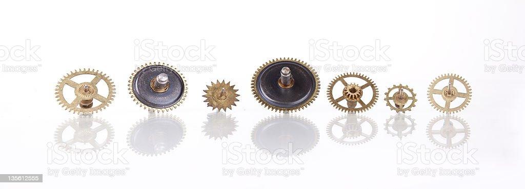 clock wheels XXXL royalty-free stock photo