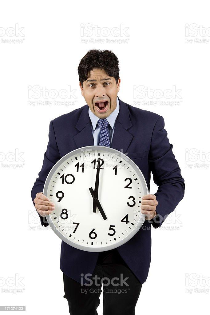 Clock Work royalty-free stock photo