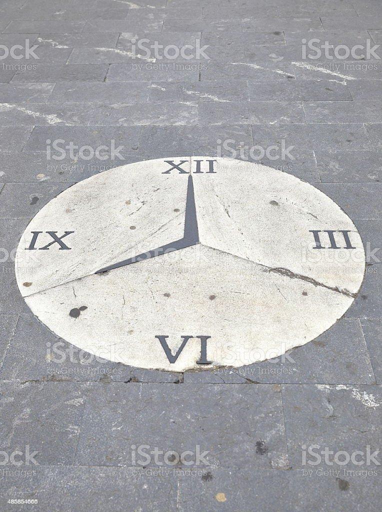 clock-donostia stock photo