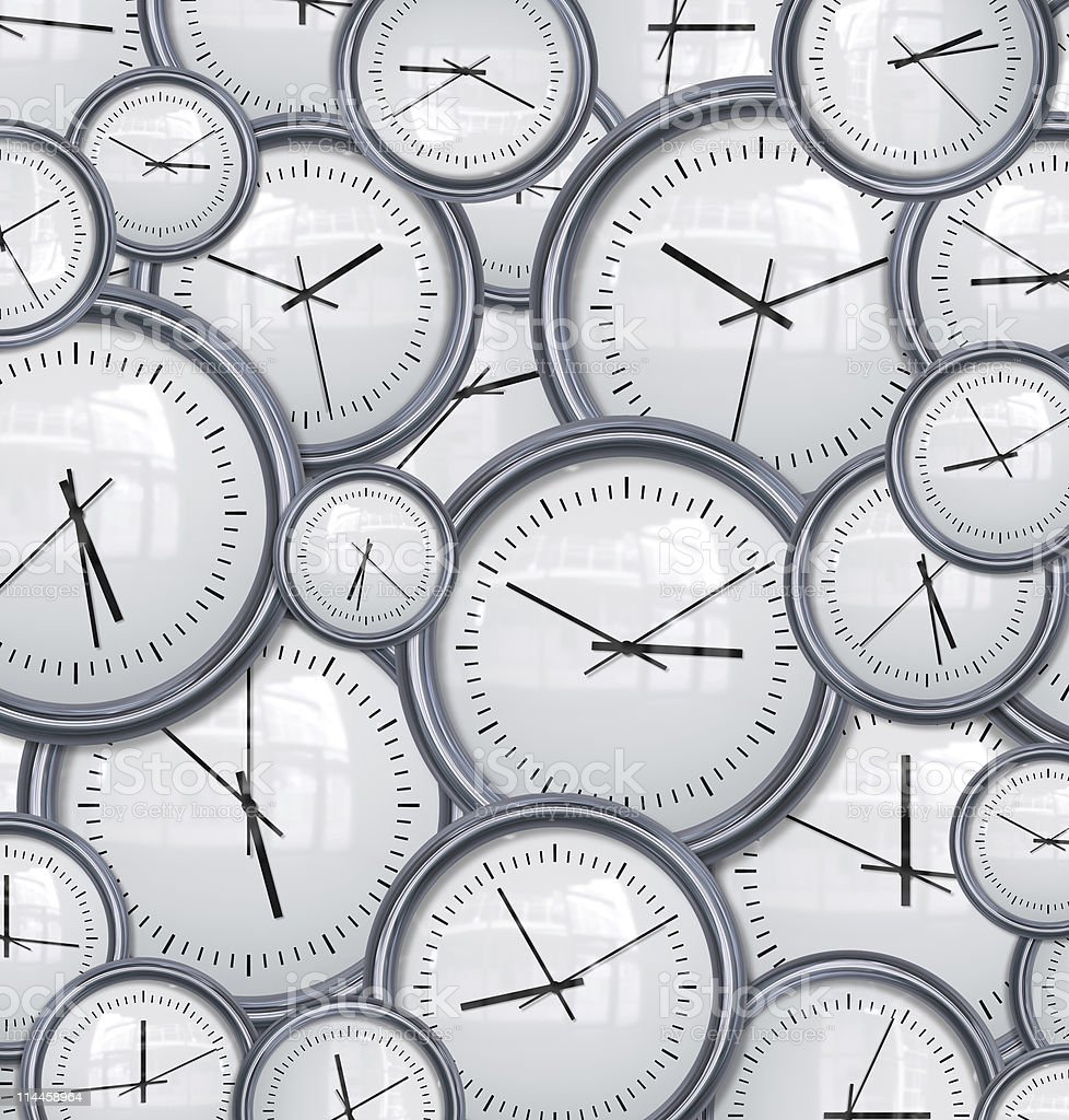clocks and time background stock photo