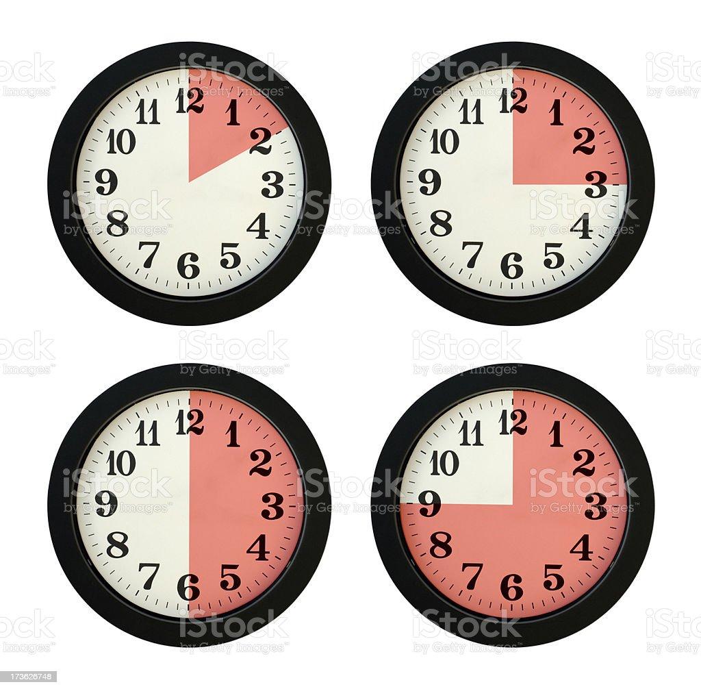 Clocks royalty-free stock photo