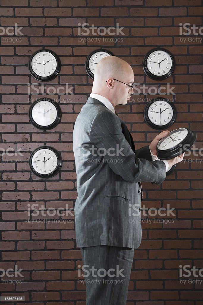 Clocks stock photo