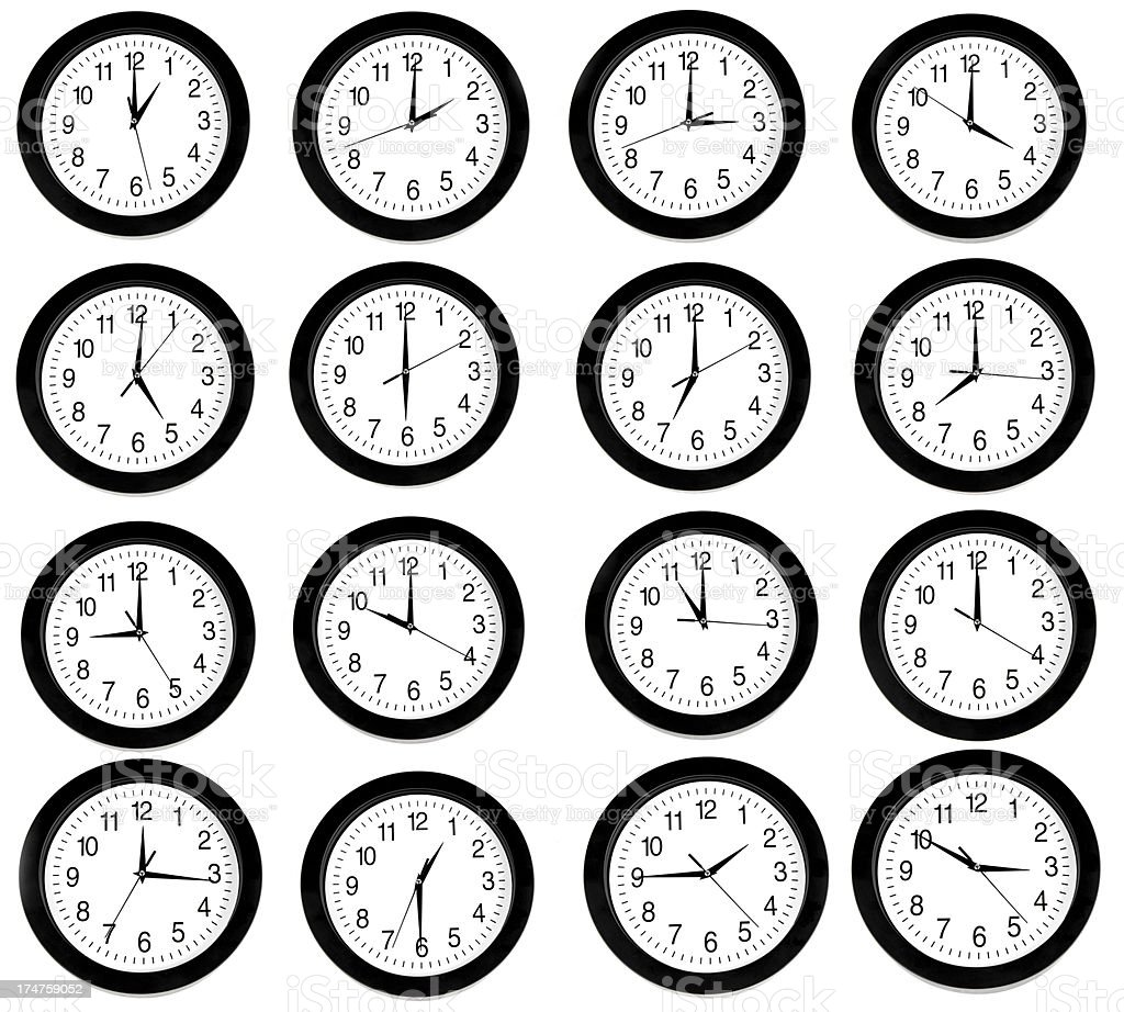 Clocks royalty-free stock photo