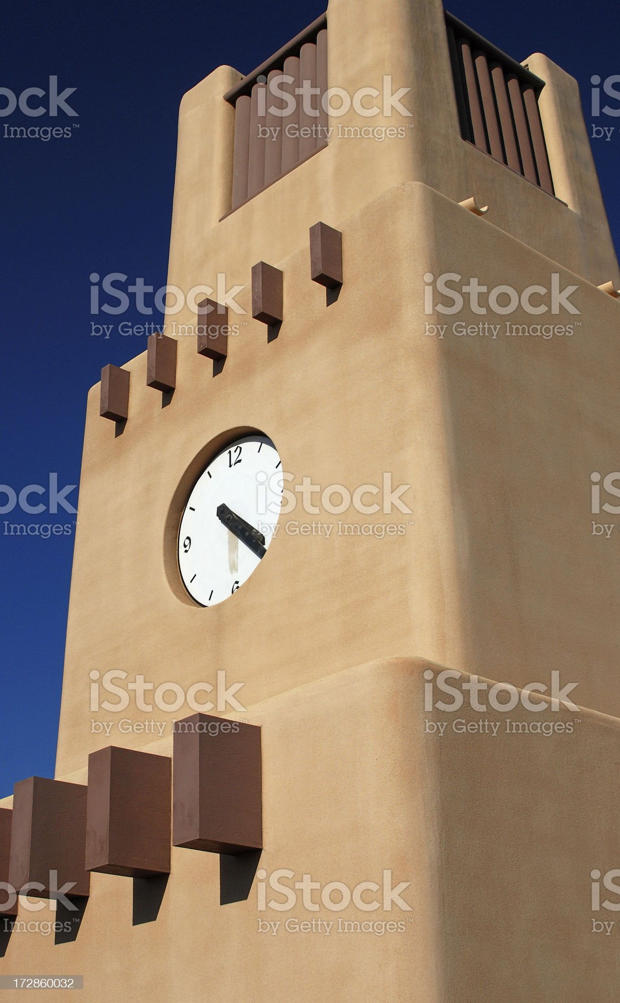 Clocktower royalty-free stock photo
