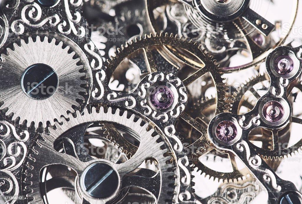 Clockwork Background stock photo