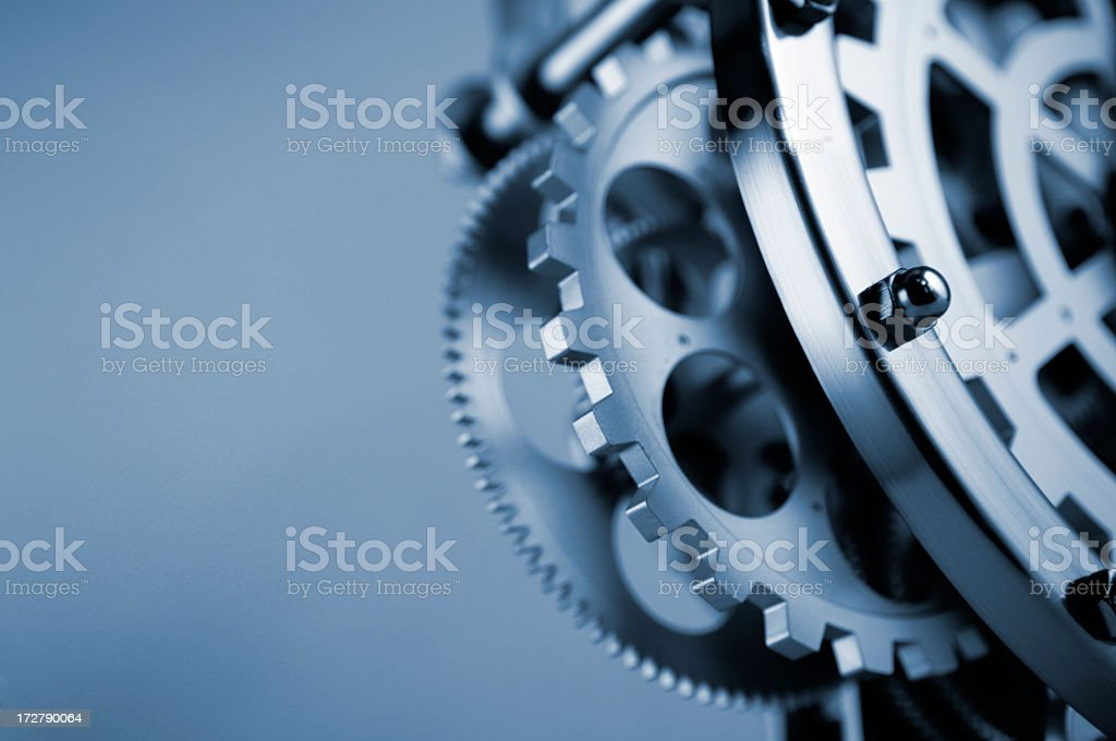 Clockwork Gears and Cogs stock photo