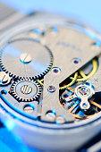 Clockwork gears inside