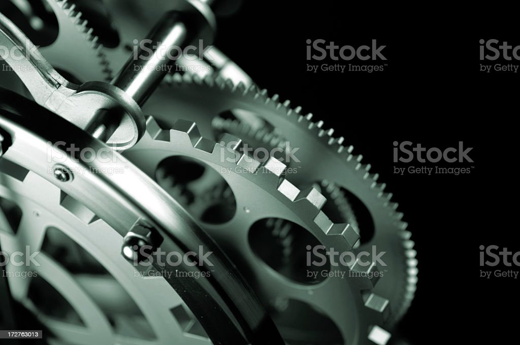 Clockwork Gears royalty-free stock photo
