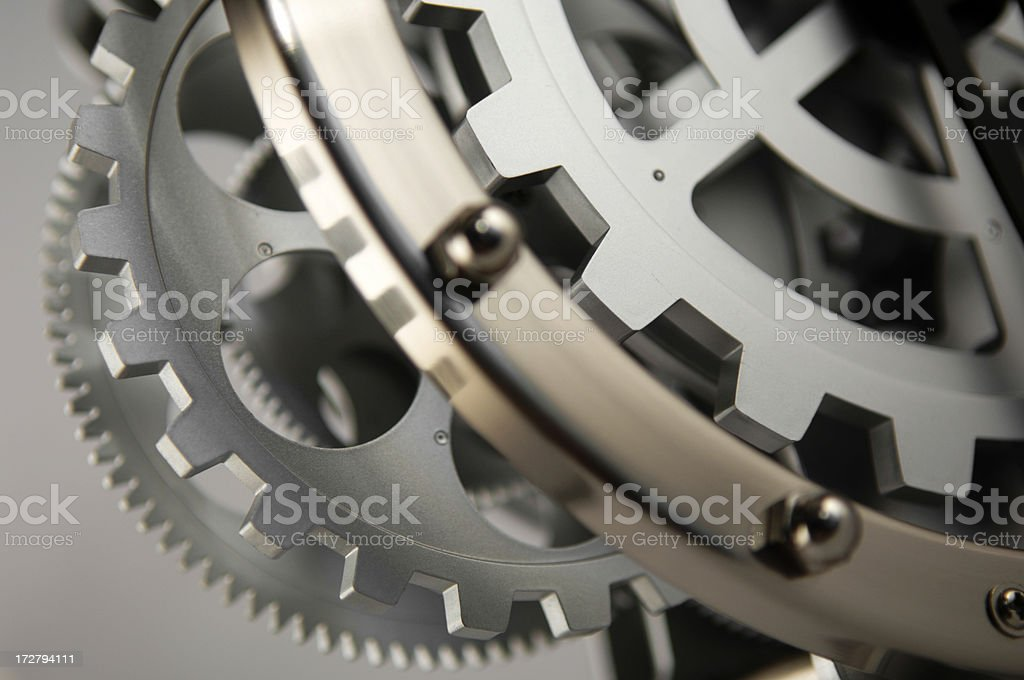 clockwork royalty-free stock photo