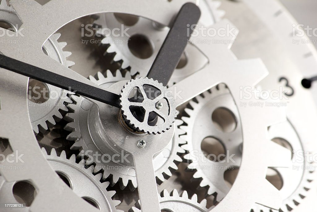 Clockworks Gears royalty-free stock photo