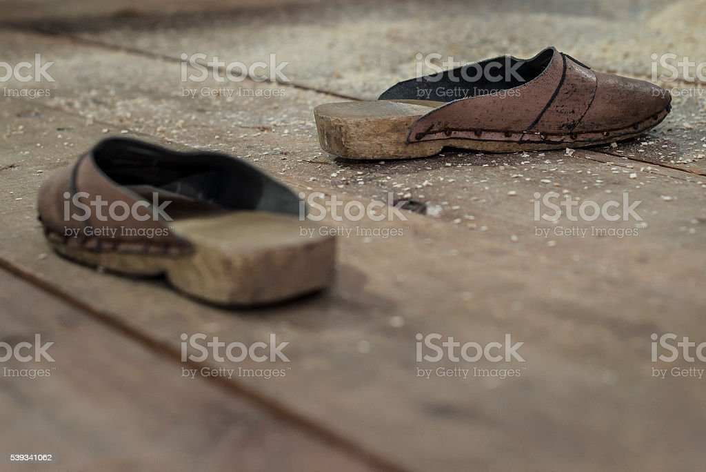 Clogs stock photo