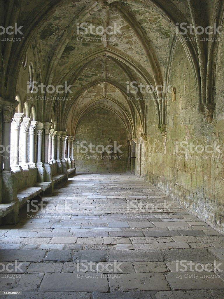 cloister stock photo