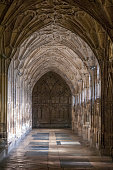 Cloisters In Gloucester Cathedral, United Kingdom