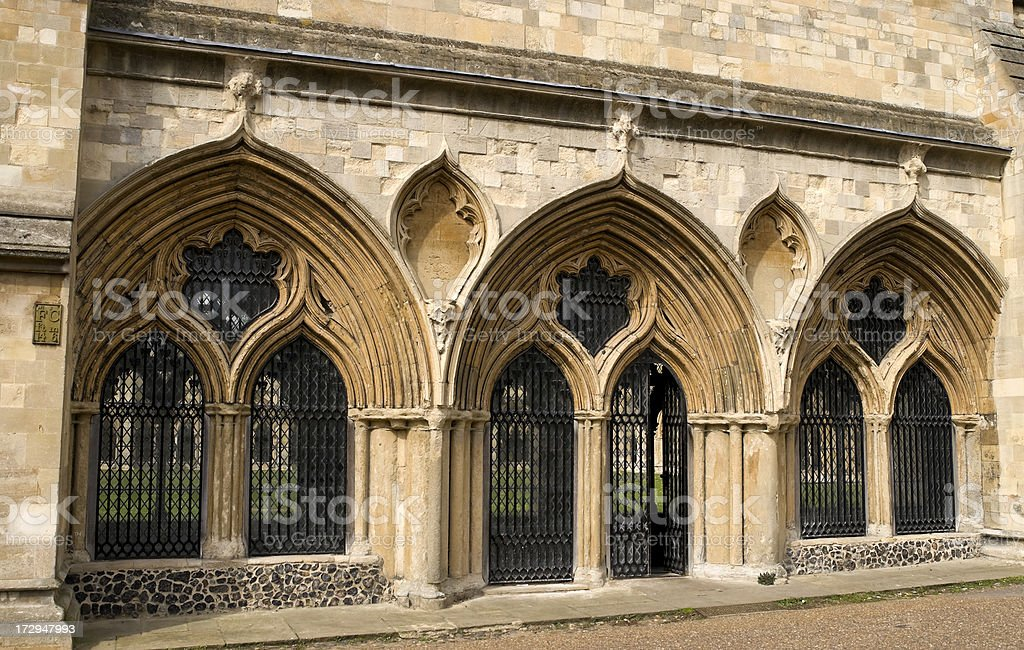 Cloisters royalty-free stock photo