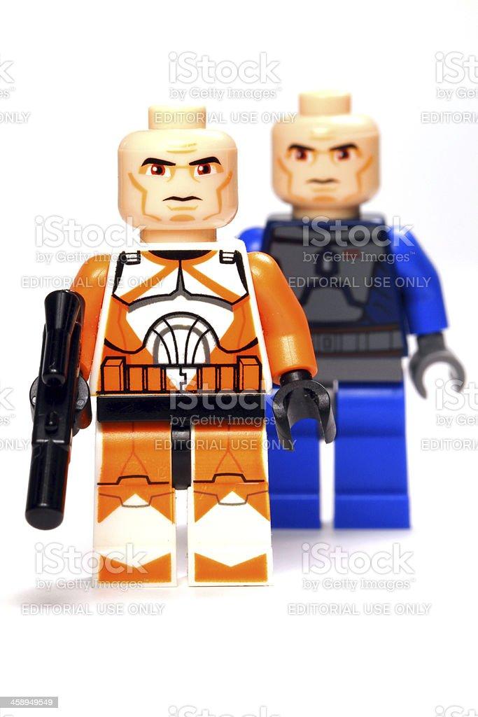 Clone Father stock photo