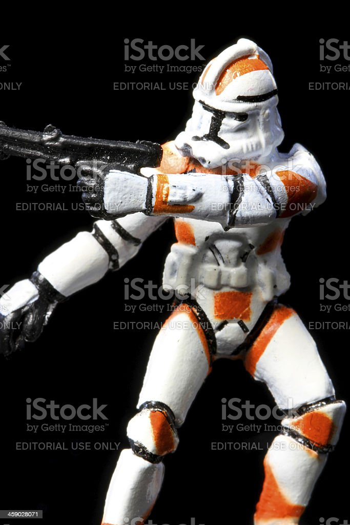 Cloned Fighter royalty-free stock photo