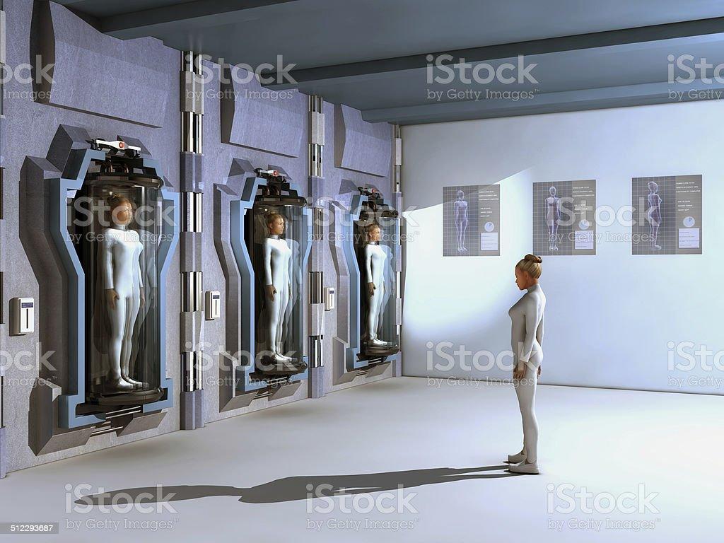 Clones stock photo