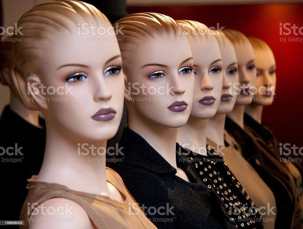 cloning dummies royalty-free stock photo