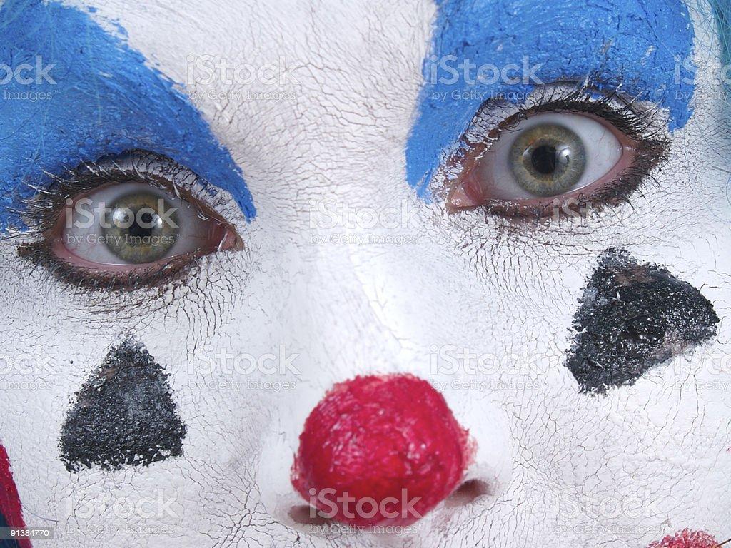 Close Clown royalty-free stock photo