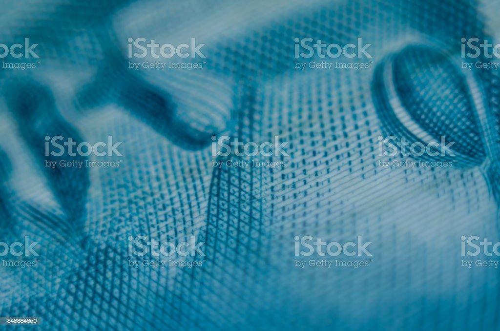 Close detail of Brazilian money stock photo
