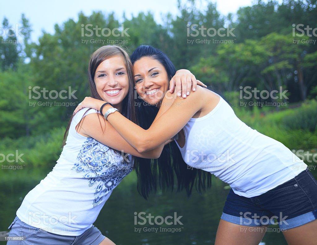 Close Friend royalty-free stock photo