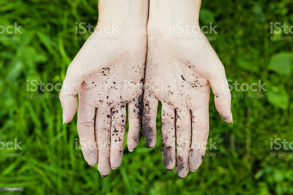 Fermer hands royalty-free stock photo
