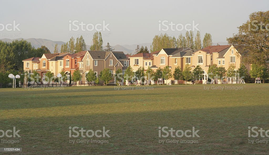 Close Knit Community royalty-free stock photo