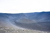 Close Look At A Tuff Ring Volcano