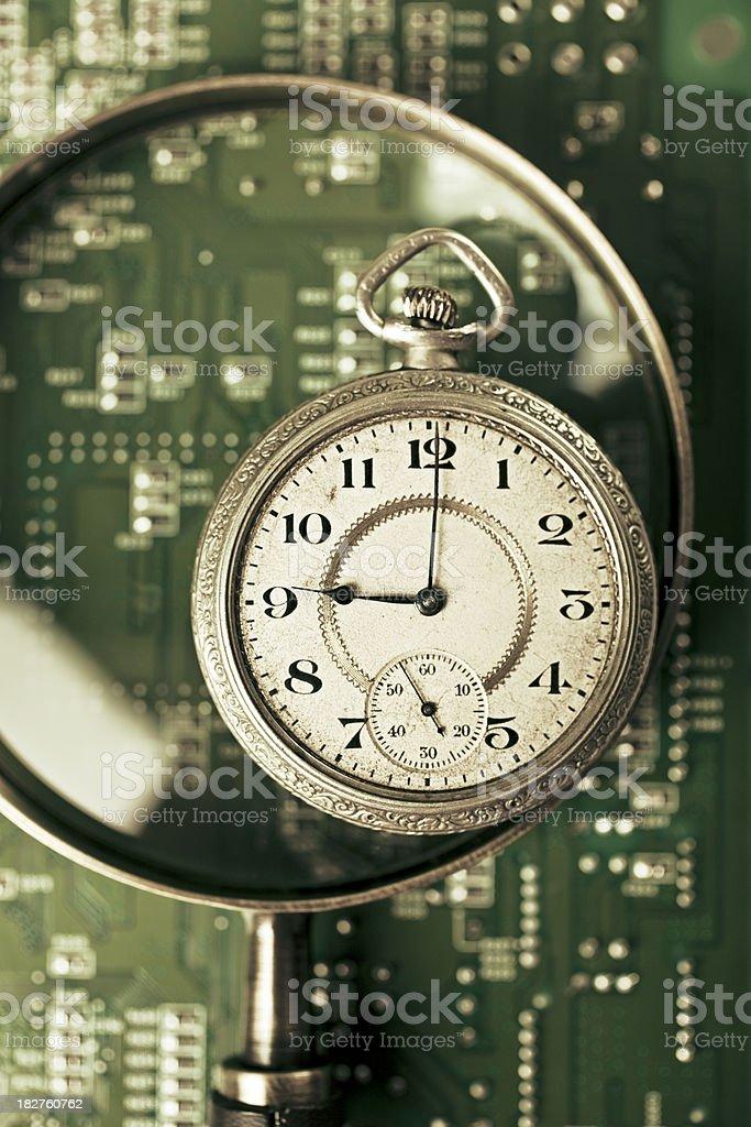 close look at technology royalty-free stock photo