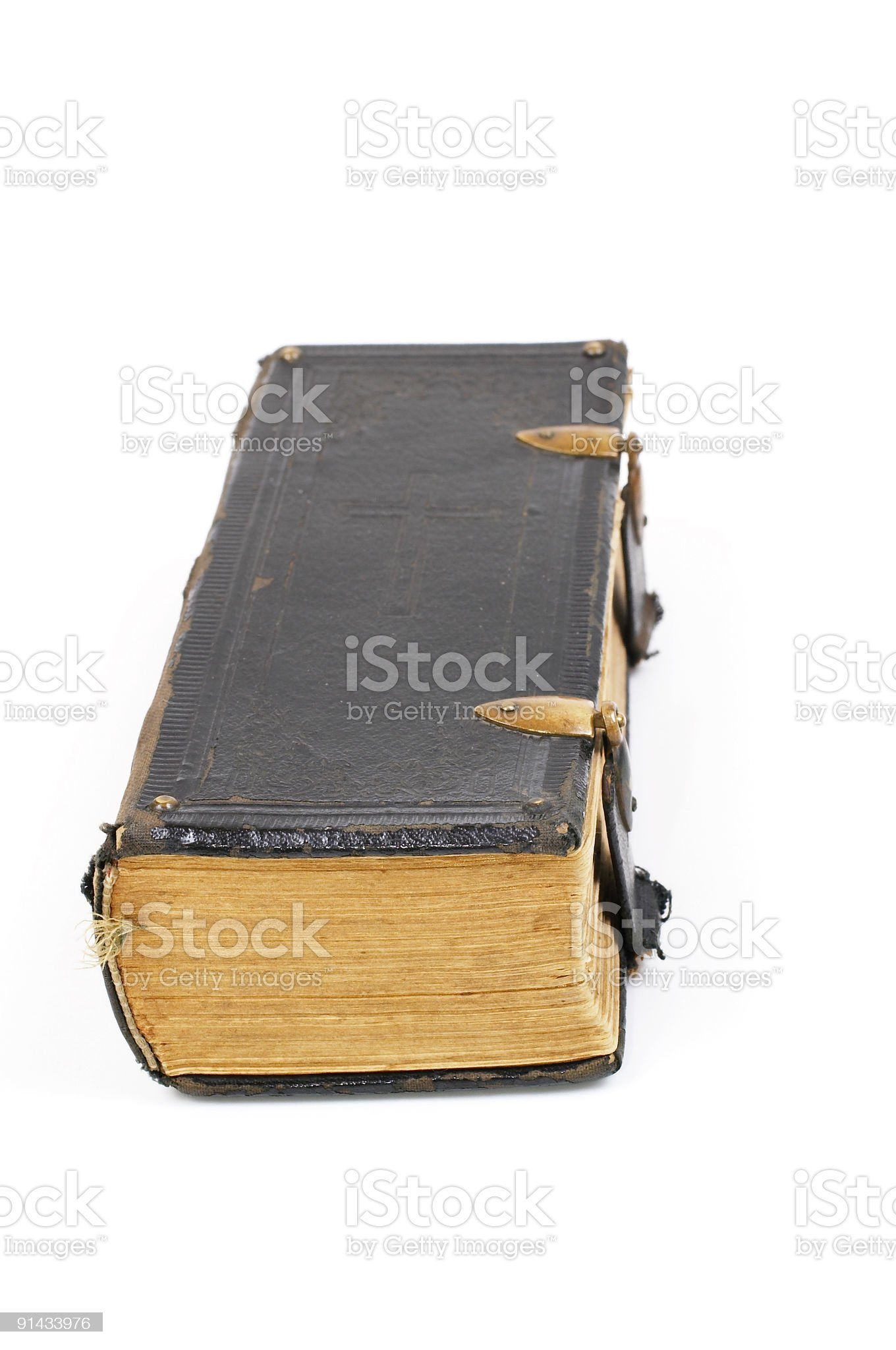Close old book royalty-free stock photo
