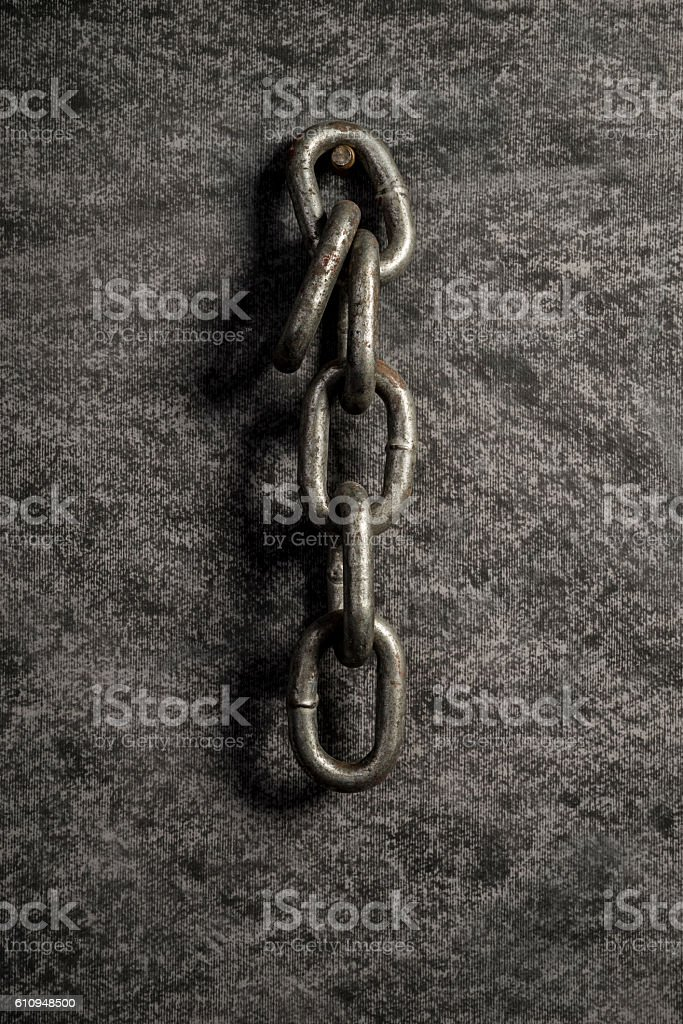 Close to Chain stock photo