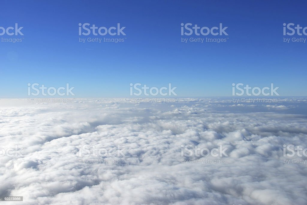 Close to outer space royalty-free stock photo