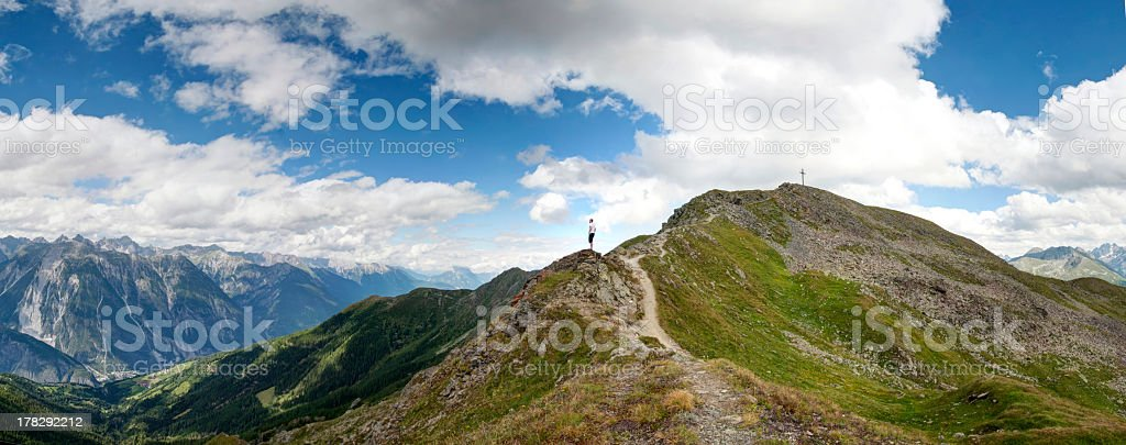Close to the cross royalty-free stock photo