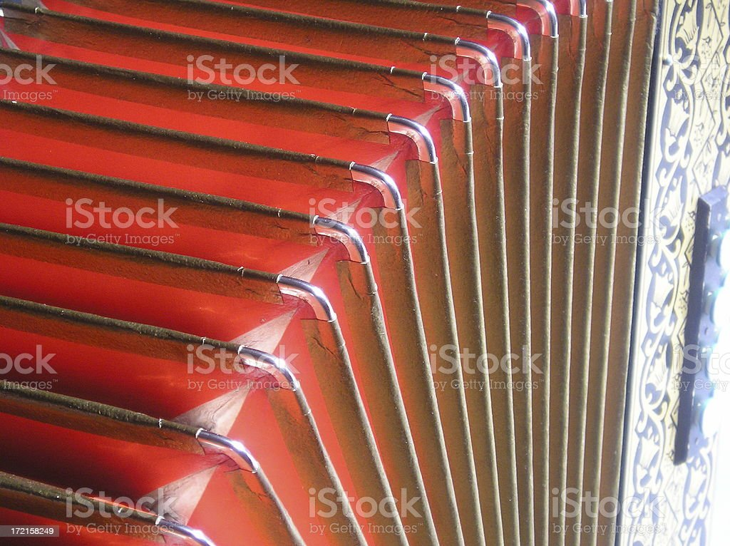 Close up accordion royalty-free stock photo