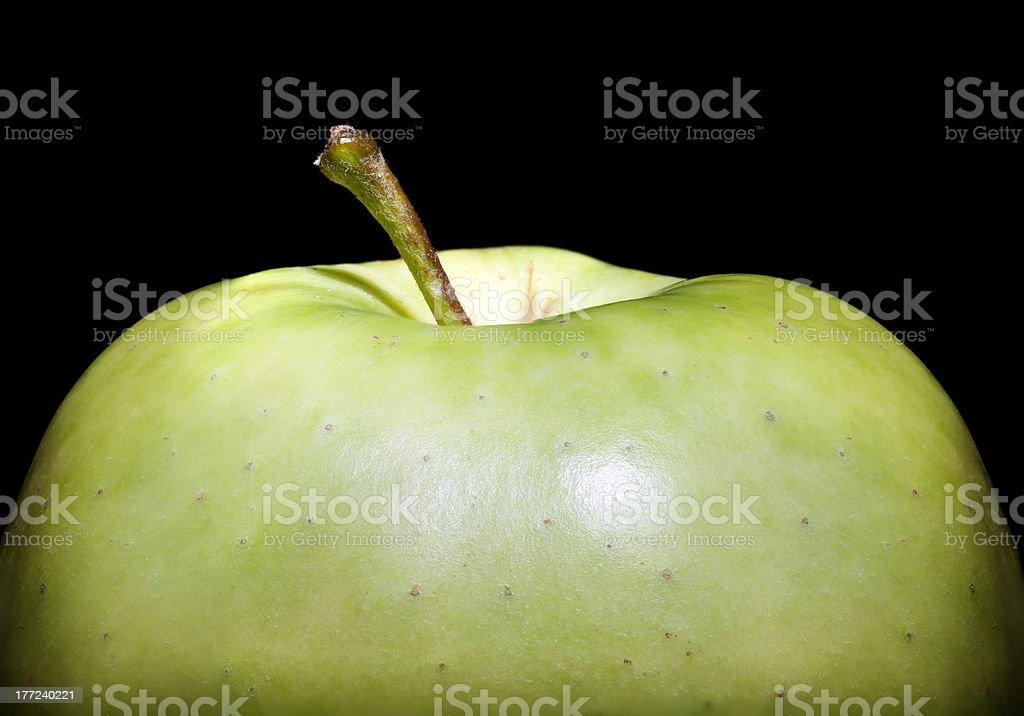 Close up Apple royalty-free stock photo