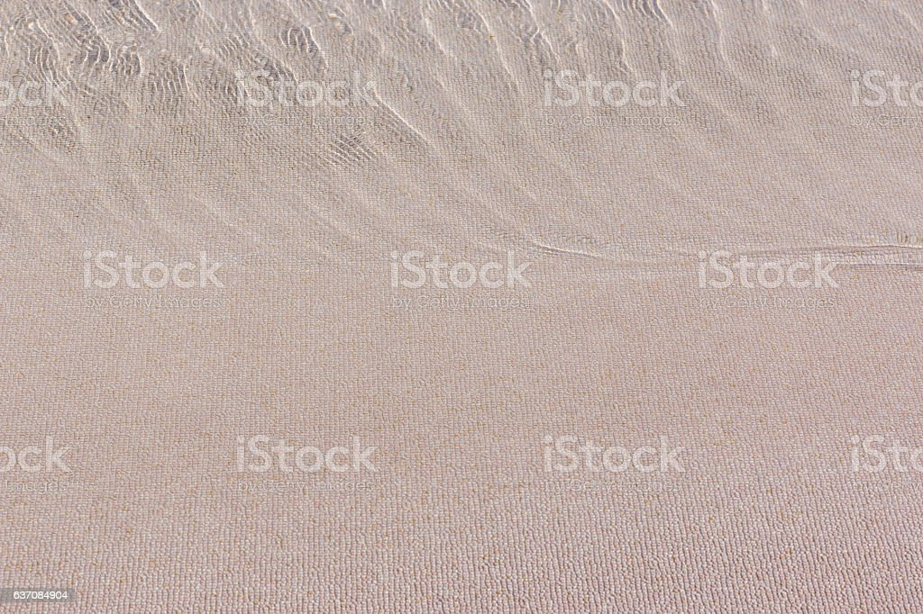 close up artificial beach floor background. stock photo