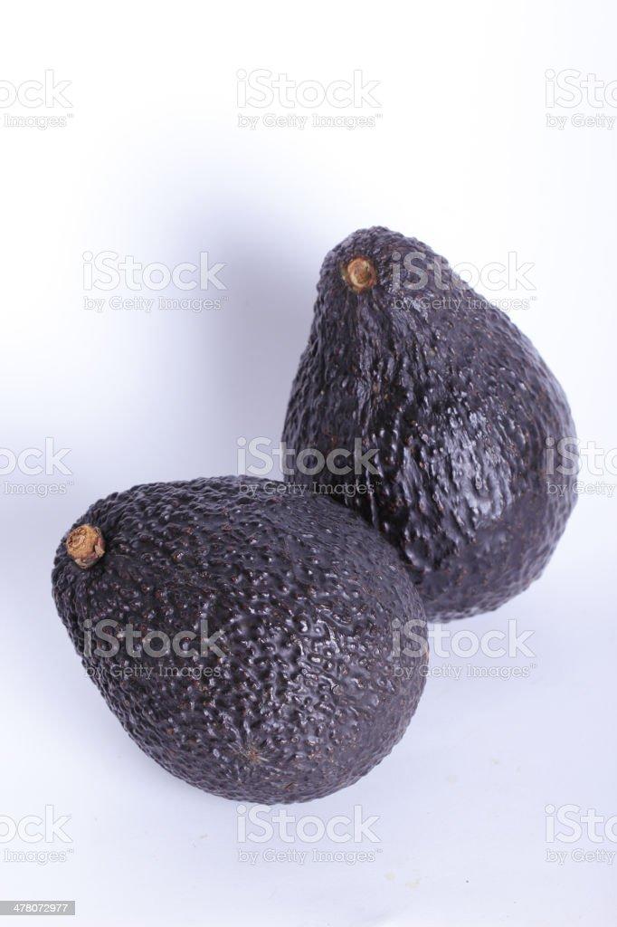 Close up avocado royalty-free stock photo