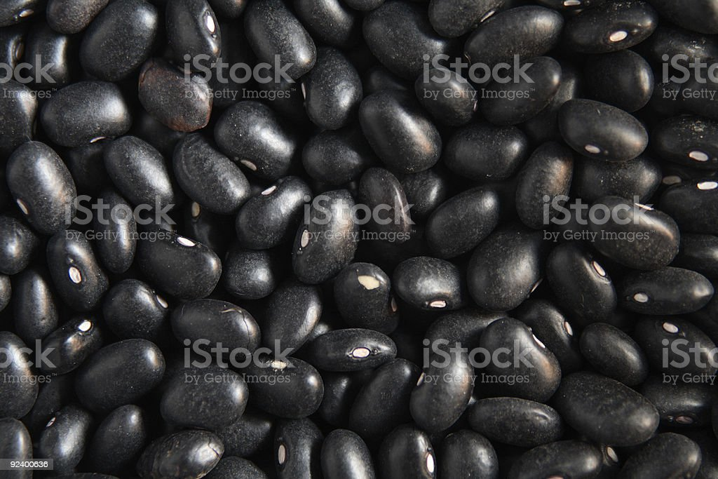 A close up background of beans royalty-free stock photo
