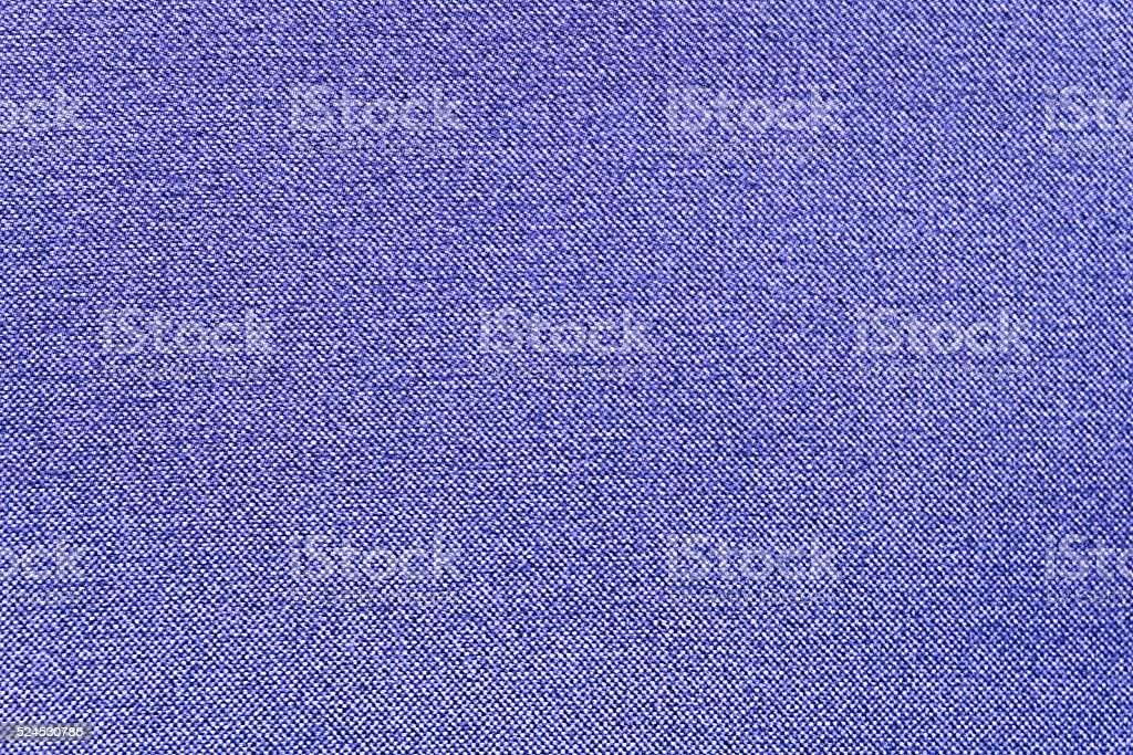 Close Up Background of Blue Canvas Textile Texture stock photo