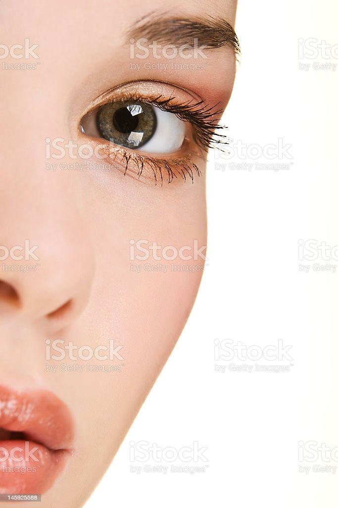 Close up beauty royalty-free stock photo