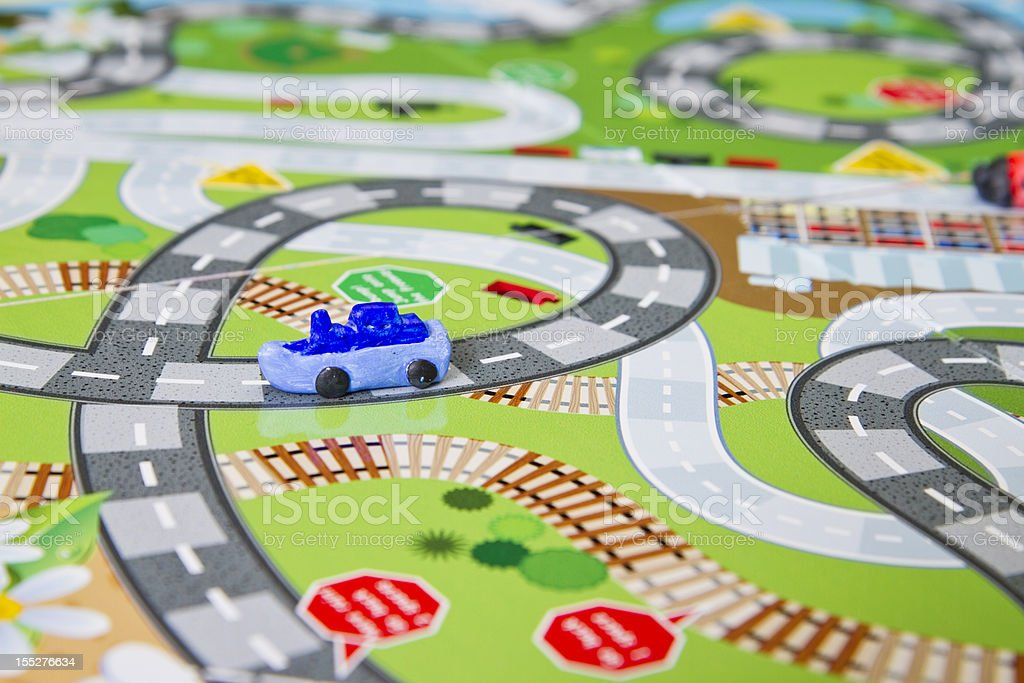 Close Up Board Game stock photo