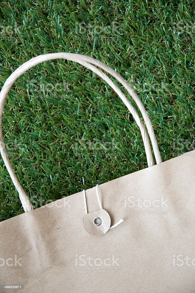 close up brown paper bag royalty-free stock photo