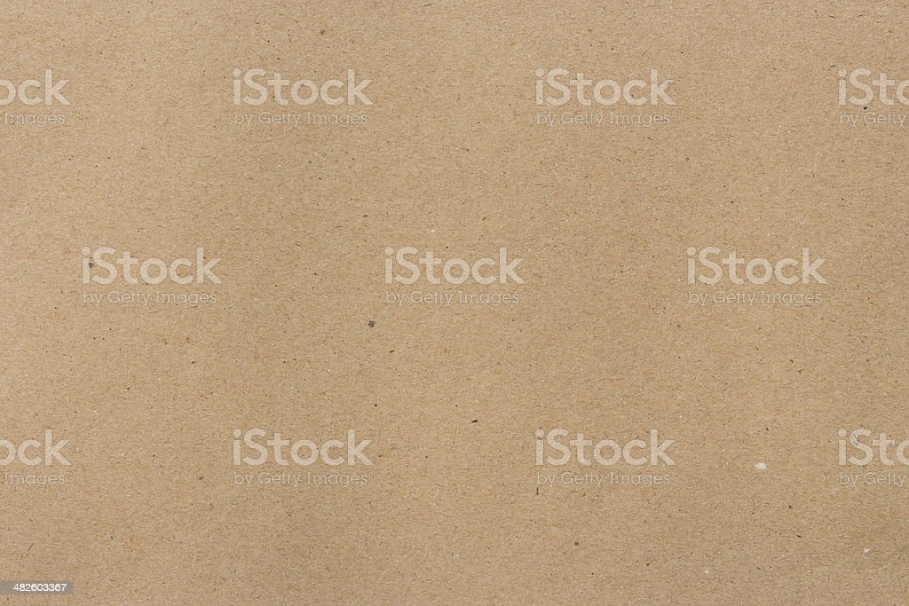 close up brown recycled paper texture background stock photo