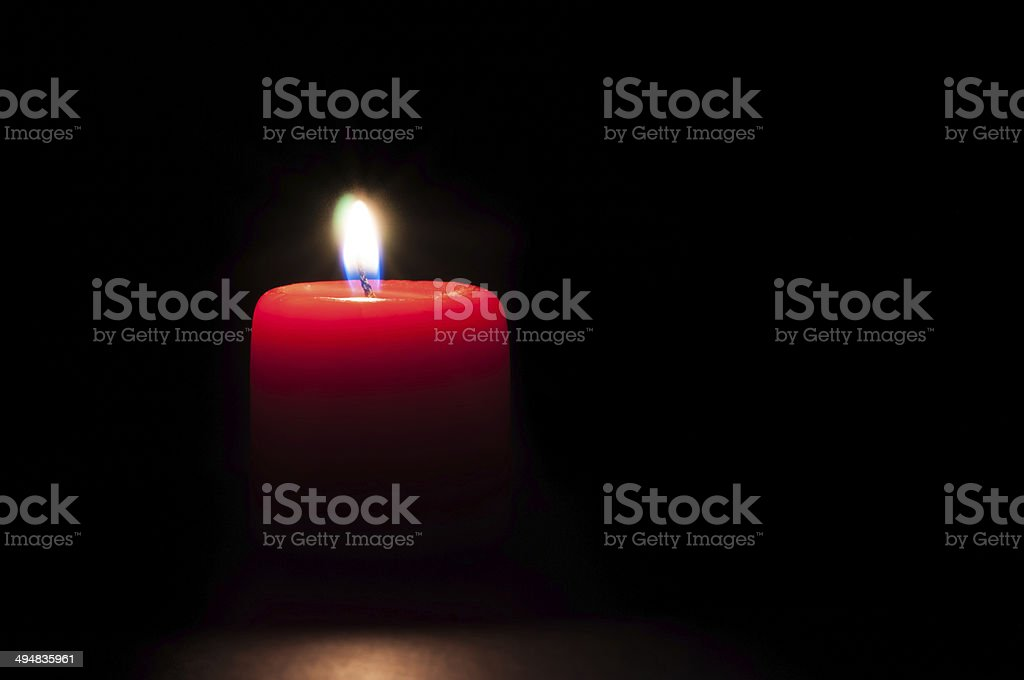 Close Up Candle stock photo